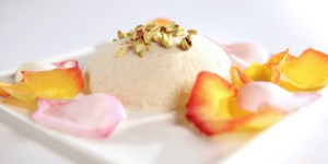 Image of kulfi on a white plate