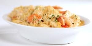 Lobster Macaroni & Cheese dish