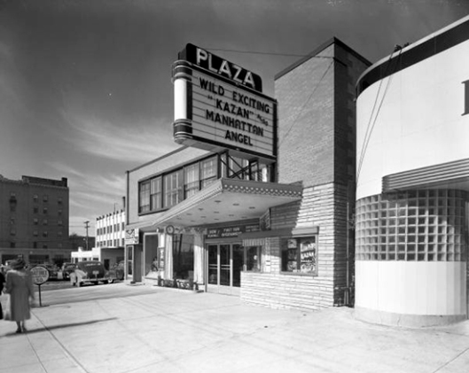The Plaza Theatre, 1950. Now it is Riley's Pub